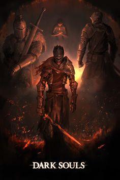 Dark Souls 3 Fan art Contest Entry, Brian Kim on ArtStation at https://www.artstation.com/artwork/G6dbW