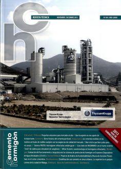 Cemento hormigón: revista técnica. Nº959. Sumario: http://www.cemento-hormigon.com/Articulos/Articulos?id=8 Na biblioteca: http://kmelot.biblioteca.udc.es/record=b1178034~S1*gag