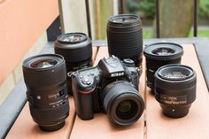 first-nikon-lenses-group