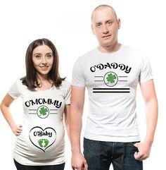 c2442007a St Patricks day pregnancy announcement Irish Shirt Baby Funny Pregnancy  Announcement Couples Shirt Baby Announcement Ideas