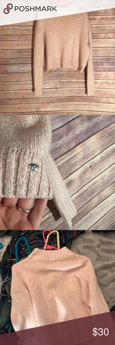NWOT American eagle baby pink sweater NWOT American Eagle Outfitters Sweaters