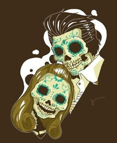 """Want a tattoo like this """"til death do us part"""""""