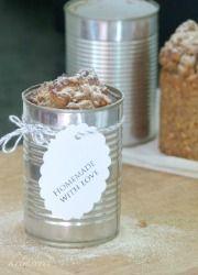 rezepte - Krimserei Dosenbrot mit Dinkeleinlage