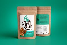 GoArtisan – Crocante on Behance – Amazing World Food and Recipes Chip Packaging, Packaging Snack, Kraft Packaging, Pouch Packaging, Food Packaging Design, Coffee Packaging, Packaging Design Inspiration, Branding Design, Chocolate Packaging