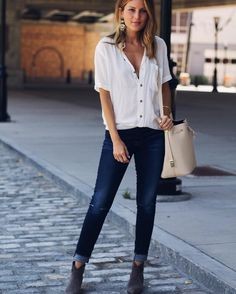My new favorite pair of denim @myfitcode thank you for helping me find THE most perfect fit! Wrote a little bit more about it on the blog http://liketk.it/2oJUX @liketoknow.it #liketkit