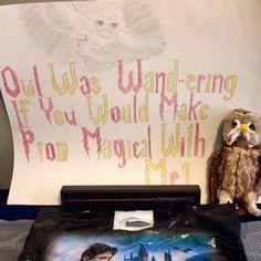 Harry potter proposal #HarryPotterProm #Promposal #harrypotter #prom