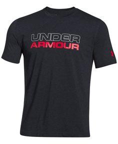 af4db26a2 Under Armour Men s Wordmark T-Shirt Men - T-Shirts - Macy s