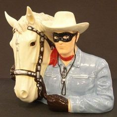The Lone Ranger Limited Edition of 4800 Cookie Jar by Vandor