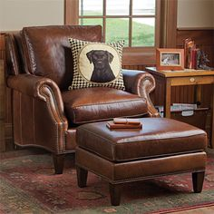 I Want A Leather Chair In My Man Cave