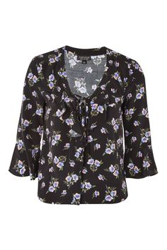 Floral Lattice Blouse - New In Fashion - New In - Topshop Europe