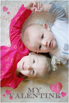 Happy Valentine's Day! Indoor photography. Siblings. Julz Photography