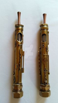 Steampunk Electronic Cigarette by PseicoElectric on DeviantArt