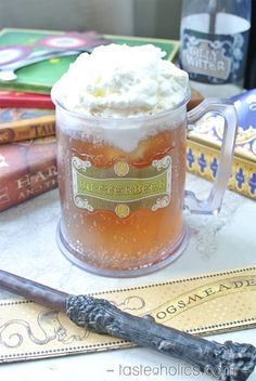 It's been too long since you've tasted the sweet, bubbly butterbeer from Hogsmeade. Don't wait, make a low carb version today and sink into another book!