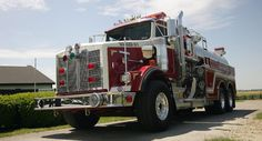 Fire Tanker | Pierce Elliptical Tanker: The workhorse with ultimate stability. | Piercemfg.com American Firefighter, Firefighter Paramedic, Firefighter Decor, Firefighters Wife, Fire Dept, Fire Department, Tow Truck, Fire Trucks, 1st Responders