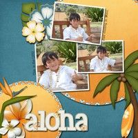 Gallery Projects - Scrapbooking - hawaii - Two Peas in a Bucket