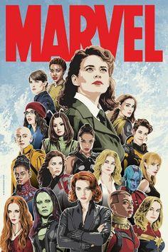 Marvel Ladies