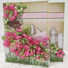 Heartfelt Creations exists to dynamically inspire, uplift, and add value to papercrafters. We do this with a unique line of coordinating Papercrafting & Scrapbooking products. Flower Stamp, Flower Cards, Paper Flowers, Heartfelt Creations Cards, Fancy Fold Cards, Penny Black, Felt Hearts, Small Flowers, Petunias