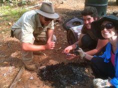 How to make biochar and a biochar stove