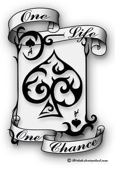 Ace Of Spades tattoo design by B0dah.deviantart.com on @DeviantArt