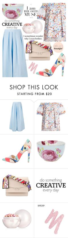 """213"" by erohina-d ❤ liked on Polyvore featuring Rachel Comey, Peter Pilotto, Alice + Olivia, PiP Studio, Paula Cademartori, WALL, Guerlain and Urban Decay"