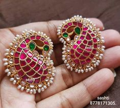 Shop the Most Beautiful Antique Kundan Jewelry Here gold plated pure silver antique kundan jewellery Jewelry Design Earrings, Gold Jewellery Design, Designer Jewellery, Craft Jewelry, Jewelry Storage, Silver Jewelry Box, Sterling Silver Jewelry, Silver Ring, Silver Earrings