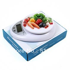 Free shipping New 5kg 5000g/1g Digital Kitchen Food Diet Scale #8100-in Bathroom Products from Home  Garden on Aliexpress.com $7.28