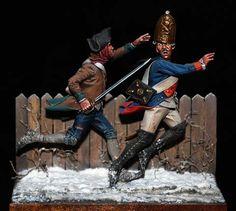 Bill Horan - the souvenir American Revolutionary War, American War, Samurai, Crime, Norman Rockwell Paintings, Military Action Figures, Historical Artifacts, Military Diorama, Miniature Figurines