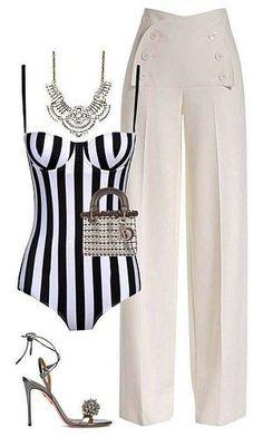 Unique Fashion, Pink Fashion, Fashion Dresses, Womens Fashion, Moda Fashion, Fashion Edgy, Cheap Fashion, Fashion Ideas, Polyvore Moda