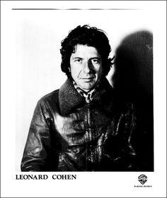 1977-Leonard-Cohen-Singer-Musician-Poet-Novelist-Canadian-Jacket-Press ...