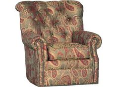 Shop for Mayo Manufacturing Corporation Swivel, 2220F42, and other Living Room Chairs at Union Furniture in Union,Missouri. Sit back and relax in the comfort of this chair as it provides stylish utility. As this chair combines trendy aesthetics and dependable function, it blossoms into a fashionable piece.
