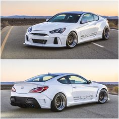 New @arkperformance widebody kit for the #hyundaigenesis contact us for pricing sales@vividracing.com or visit http://ift.tt/1qz9j3R
