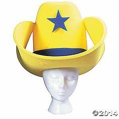 Yellow 40 Gallon Hat