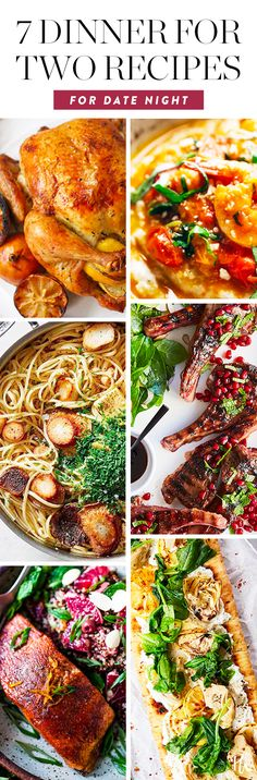17 Dinner-for-Two Recipes That Are Perfect for Date Night #datenightdinners #recipesfortwo #dinnerreciipes #datenight #datenightideas