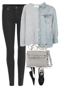 """""""Untitled #4500"""" by keliseblog ❤ liked on Polyvore featuring 7 For All Mankind, MANGO, Topshop, Alexander Wang and ASOS"""
