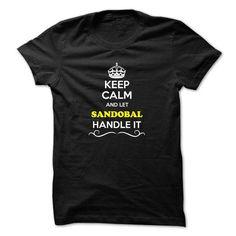 Cheap T-shirt Design It's a SANDOBAL Thing