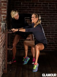 Carrie Underwood's leg workout