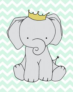 Custom Listing Elephant Nursery Art  Nursery by SweetMelodyDesigns, $10.00