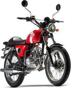 Pour 2016, Mash lance une moto vintage de 50cc : la Fifty