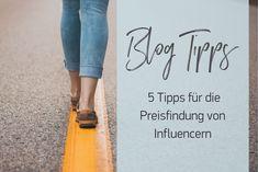 Preissetzung von Influencern: Wir haben hier 5 Tipps für die richtige Preissetzung als Blogger, Instagrammer, YouTuber und Co. Workshop, Youtuber, Letter Board, Lettering, Earn Money, Blogging, Tips, Atelier, Calligraphy