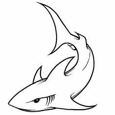 Shark tattoo stencil - Shark Free Tattoo Stencil - Free Shark Tattoo Designs For Men - Free Shark Tattoo Designs For Woman - Customized Shark Tattoos - Free Shark Tattoos - Free Printable Shark Tattoo Stencils - Free Printable Shark Tattoo Sea Tattoo, Fire Tattoo, Tattoo Life, Hai Tattoos, Body Art Tattoos, Tribal Shark Tattoos, Tatuagem Diy, Skull Tattoo Flowers, Tattoo Stencils