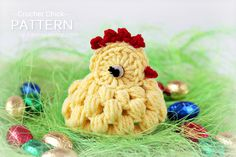 The most adorable crochet chicken#Repin By:Pinterest++ for iPad#
