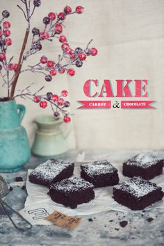 carrot and chocolate cake by Paulina Kolondra http://timefordessert.pl