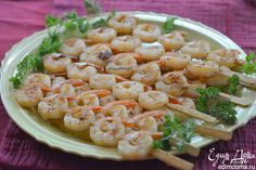 Креветки на гриле  Отличный вариант вкусной закуски на пикнике! #едимдома #готовимдома #рецепты #кулинария #домашняяеда #креветки #гриль #пикник #закуски