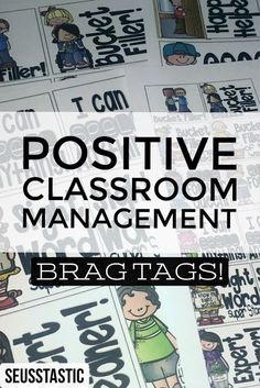 Interested in positive classroom management? You must check out these brag tags! #bestresourceever