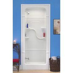 "Mirolin | Madison 36"" 3-pc Shower Stall | Home Depot Canada"