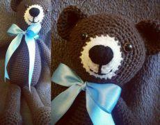 Jucărie croșetată - ursulet Teddy Bear, Toys, Animals, Fine Dining, Activity Toys, Animales, Animaux, Clearance Toys, Teddy Bears