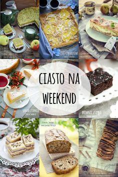 Ciasto na weekend  - 10 jesiennych przepisów Polish Recipes, Menu, Bread, Cookies, Baking, Cake, Sweet, Foods, Per Diem