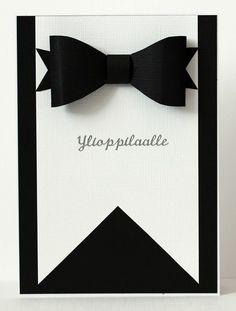 Blogini on paikka, missä tuon esille innostustani tekemiseen: askartelua ja erilaista näpertämistä, mitä vain mihin innostun. Diy Cards, Diy Gifts, Graduation, Creations, Packaging, Black And White, Invitations, Cards, Man Card