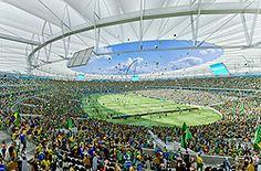 Maracana Soccer Stadium - The famost Stadium in the World- Rio de Janeiro, the soul of Brazil. The land of the Carnival, Ipanema and Copacabana Beach, The big Statue, Sugar Loaf and Me Luiz Silva. hahahaha