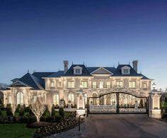 Mansion Interior, Dream House Interior, Luxury Homes Dream Houses, Dream Home Design, Modern House Design, Dream Homes, Dream Mansion, Million Dollar Homes, Dream House Plans